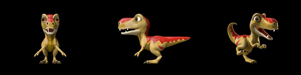 Rexy 3D model
