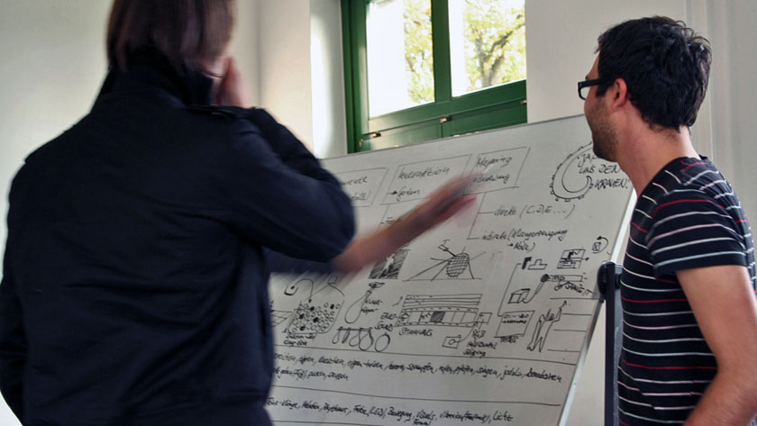 brainstorming for the workshop