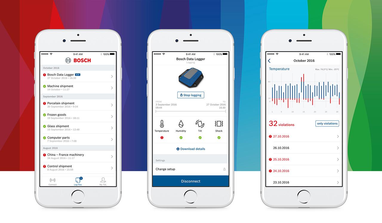 Bosch TDL App